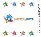real estate vector logo design  ...   Shutterstock .eps vector #434836528
