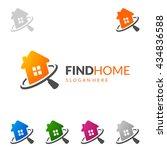 real estate vector logo design  ...   Shutterstock .eps vector #434836588