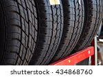 Car Tires At Warehouse In Tire...