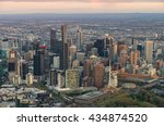 Aerial View Of The Melbourne ...