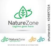 nature zone logo template... | Shutterstock .eps vector #434897314