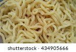 raw egg noodle texture | Shutterstock . vector #434905666