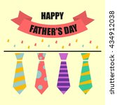 father's day poster... | Shutterstock .eps vector #434912038