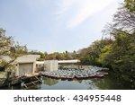 inokashira park in tokyo  japan | Shutterstock . vector #434955448