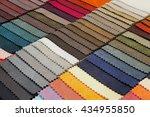 fabric sampler | Shutterstock . vector #434955850
