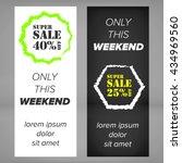 sale banner | Shutterstock .eps vector #434969560