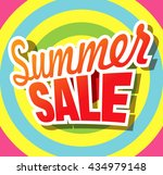 summer sale banner | Shutterstock .eps vector #434979148
