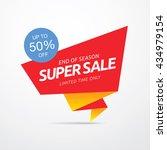 sale banner template design | Shutterstock .eps vector #434979154