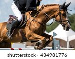 equestrian sports  horse... | Shutterstock . vector #434981776