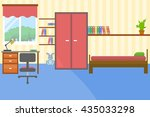 vector illustration of colorful ... | Shutterstock .eps vector #435033298