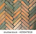brick background | Shutterstock . vector #435047818