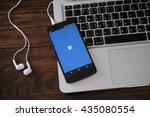 chiangmai  thailand  june 11 ... | Shutterstock . vector #435080554
