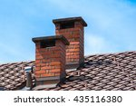 Chimneys On The Roofs