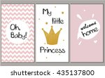 Baby Shower Vector Pink Set...