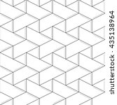 linear seamless pattern. subtle ... | Shutterstock .eps vector #435138964