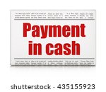 currency concept  newspaper... | Shutterstock . vector #435155923