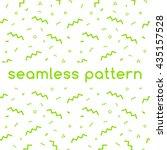 seamless confetti pattern in...   Shutterstock .eps vector #435157528