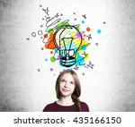 Creative Idea Concept With...