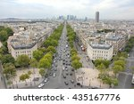 champs elysees to la defense... | Shutterstock . vector #435167776