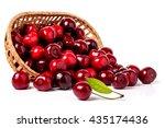 Cherries In A Wicker Basket...