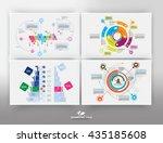 vector of infographic | Shutterstock .eps vector #435185608