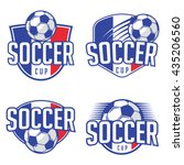 football championship logo... | Shutterstock .eps vector #435206560