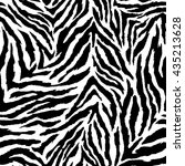 Zebra Seamless Vector...