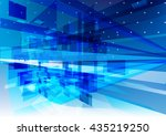 blue  background | Shutterstock .eps vector #435219250