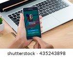 chiang mai thailand   jun 12 ... | Shutterstock . vector #435243898