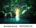 Fantasy Jungle Landscape Of...