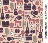 Mexico Seamless Pattern  Vector ...