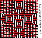 seamless background pattern.... | Shutterstock .eps vector #435301879