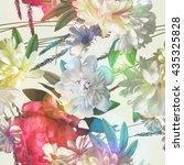 art vintage colored blurred...   Shutterstock . vector #435325828