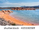 sand hollow state park in utah   Shutterstock . vector #435330589