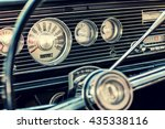 Dashboard Of A Classic America...
