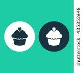 vector illustration of cupcake...