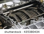 automotive transmission gearbox ... | Shutterstock . vector #435380434