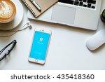 chiangmai thailand   jun 12 ... | Shutterstock . vector #435418360