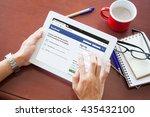 bangkok  thailand   june 11... | Shutterstock . vector #435432100