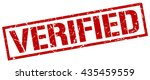 verified stamp.stamp.sign... | Shutterstock .eps vector #435459559