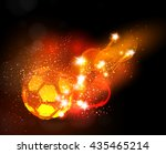 soccer ball light banner easy...