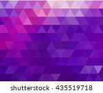abstract modern background with ... | Shutterstock .eps vector #435519718