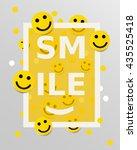 Smiley Faces Design Elements....