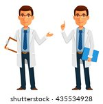 cartoon illustration of a... | Shutterstock .eps vector #435534928