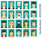 close up headshot people in...   Shutterstock .eps vector #435542254
