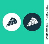 vector illustration of pizza...