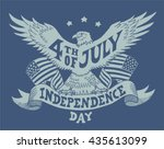 independence day of the united... | Shutterstock .eps vector #435613099
