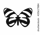butterfly icon  simple style | Shutterstock . vector #435617884
