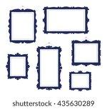 vector illustration of set of... | Shutterstock .eps vector #435630289