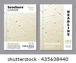 modern vector templates for... | Shutterstock .eps vector #435638440